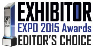 Exhibitor Expo 2015 Awards Editor's Choice Logo