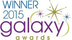 Winner 2015 galaxy awards Logo